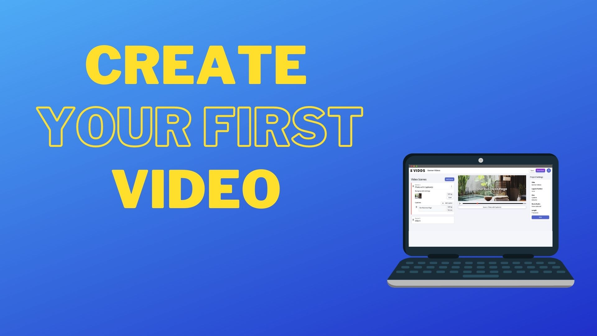 Create First Video