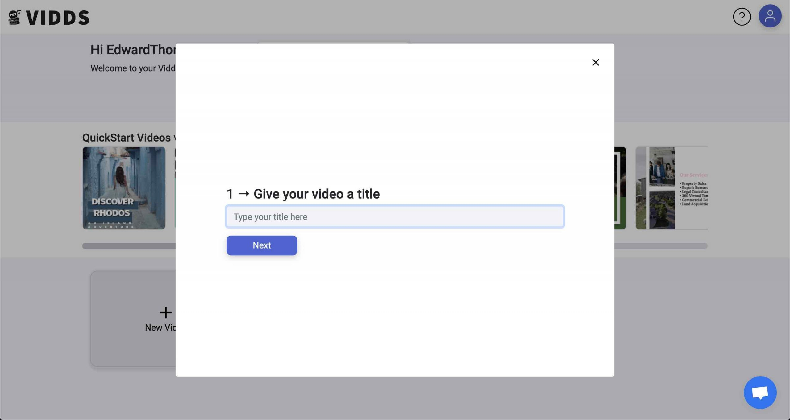 New Video Screenshot