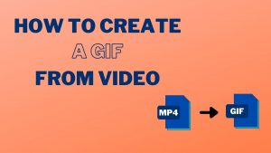 How to Create GIF from Video Cover Image