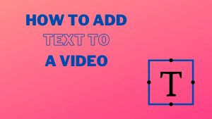 How to Add Text to a Video Cover