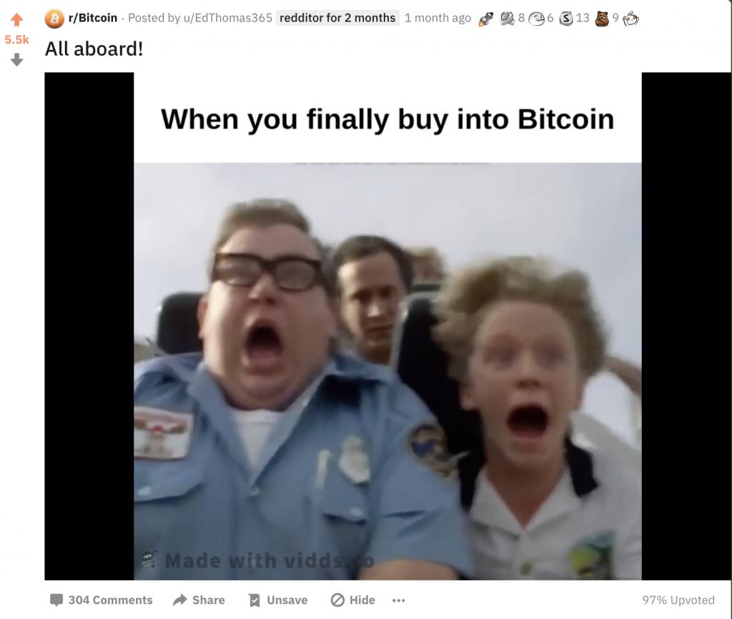 How our video went viral on reddit - screemshot