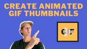 How to create an animated GIF THUMBNAIL